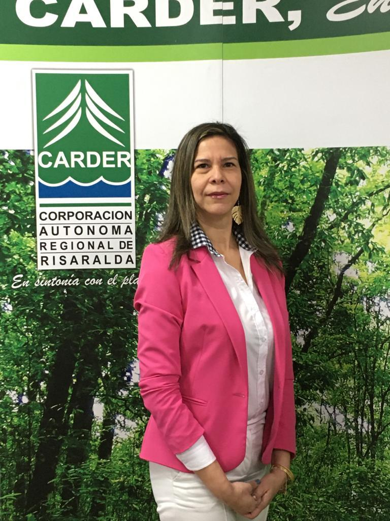 Tatiana Margarita Martínez Díaz Granados, Directora de la CARDER Risaralda